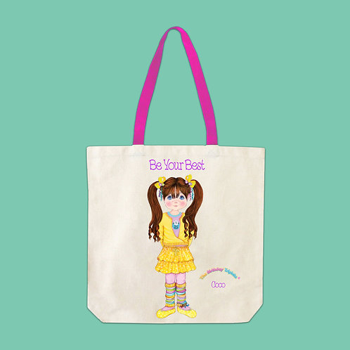 Coco Birthday Be Your Best Tote Bag