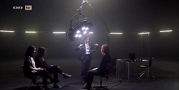 Ørjan Hesjedal utfører løgndetektortest for ITV og DR3