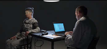 Ørjan Hesjedal utfører løgndetektortest for Samsung