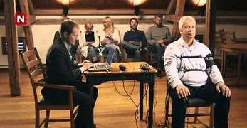 Knut Lystad i løgndetektor