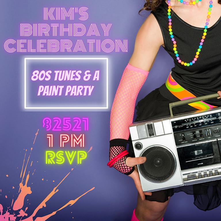 Kim's Birthday Celebration