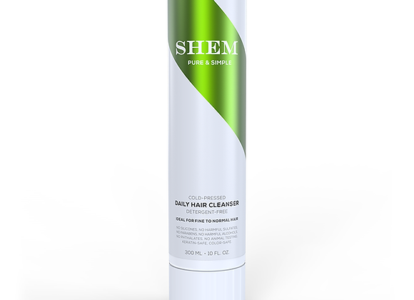 6-PACK SHEM - DETERGENT-FREE CURLY HAIR CLEANSER - Cold-Pressed Formula - 10 oz