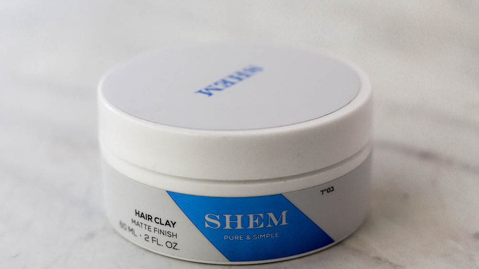 SHEM HAIR CLAY - Matte Finish