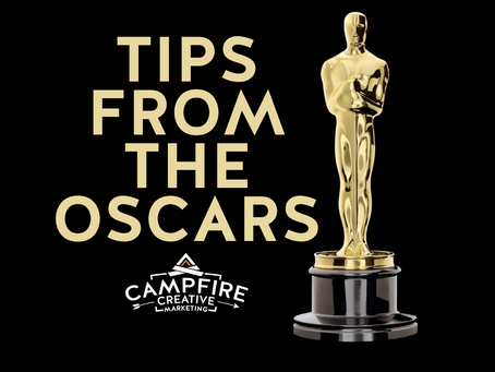 Tips From The Oscars - How To Produce a Camp Video