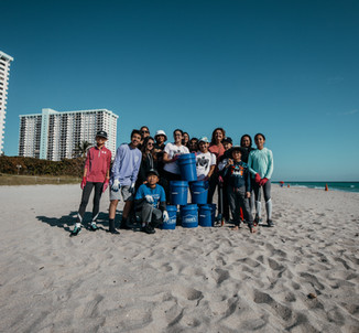 Yoga + Beach Cleanup