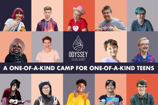 Odyssey Teen Camp Digital Brochure