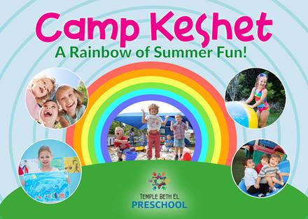 Camp Keshet Direct Mail Postcard