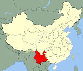 Yunnan Map