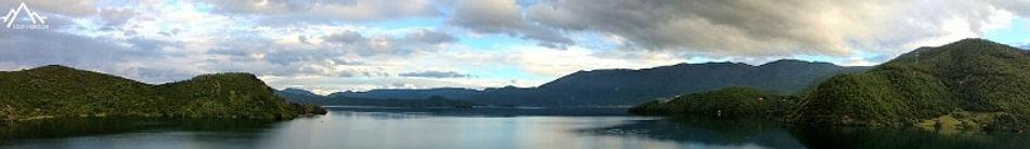 lac lugu: point de départ du trek vers yading