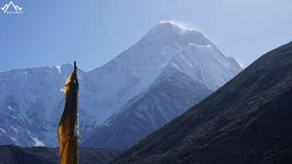minya konka vue depuis e temple Gongga
