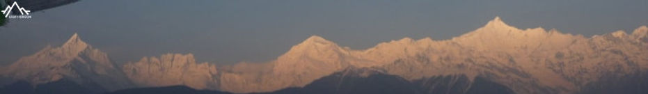 Vue sur le Kawa Karpo (mont meili) depuis Feilaisi