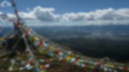 Mont sacré sur les hauteurs de shangri-la