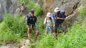 trek towards lugu lake