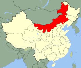 carte Mongole Intérieure