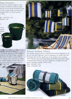 Stripes for outdoor