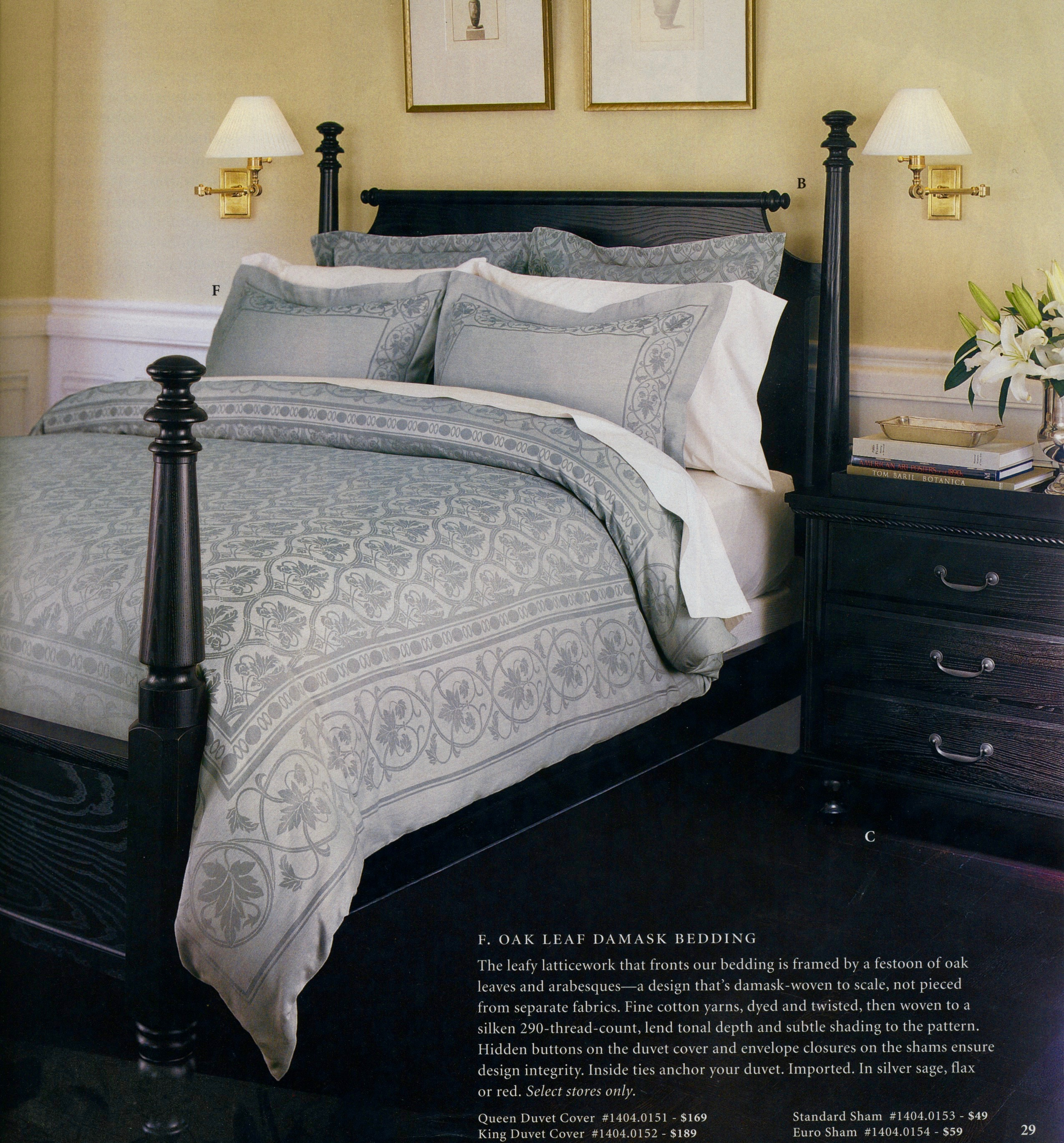 Damask Bedding