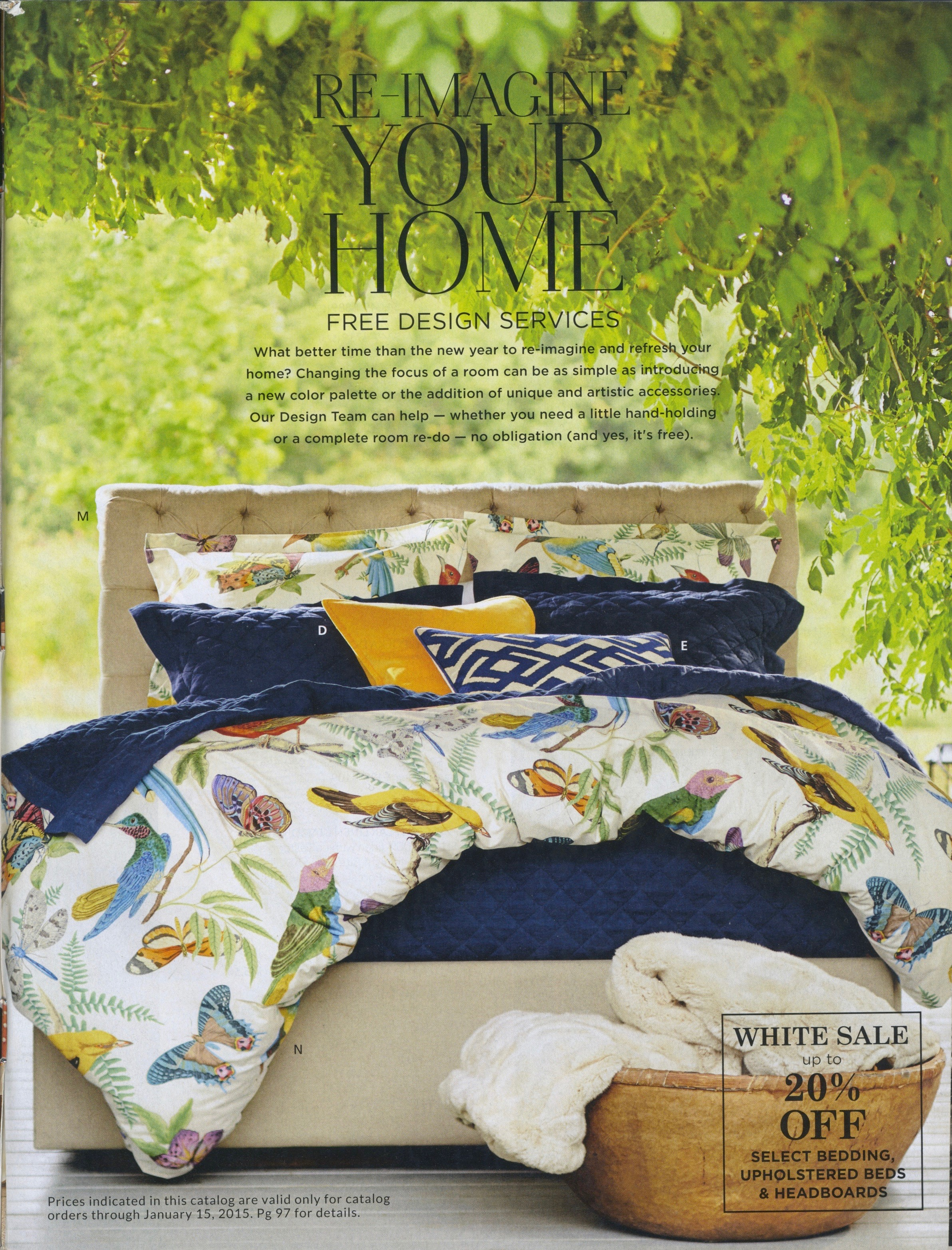 Bedding -Pottery Barn