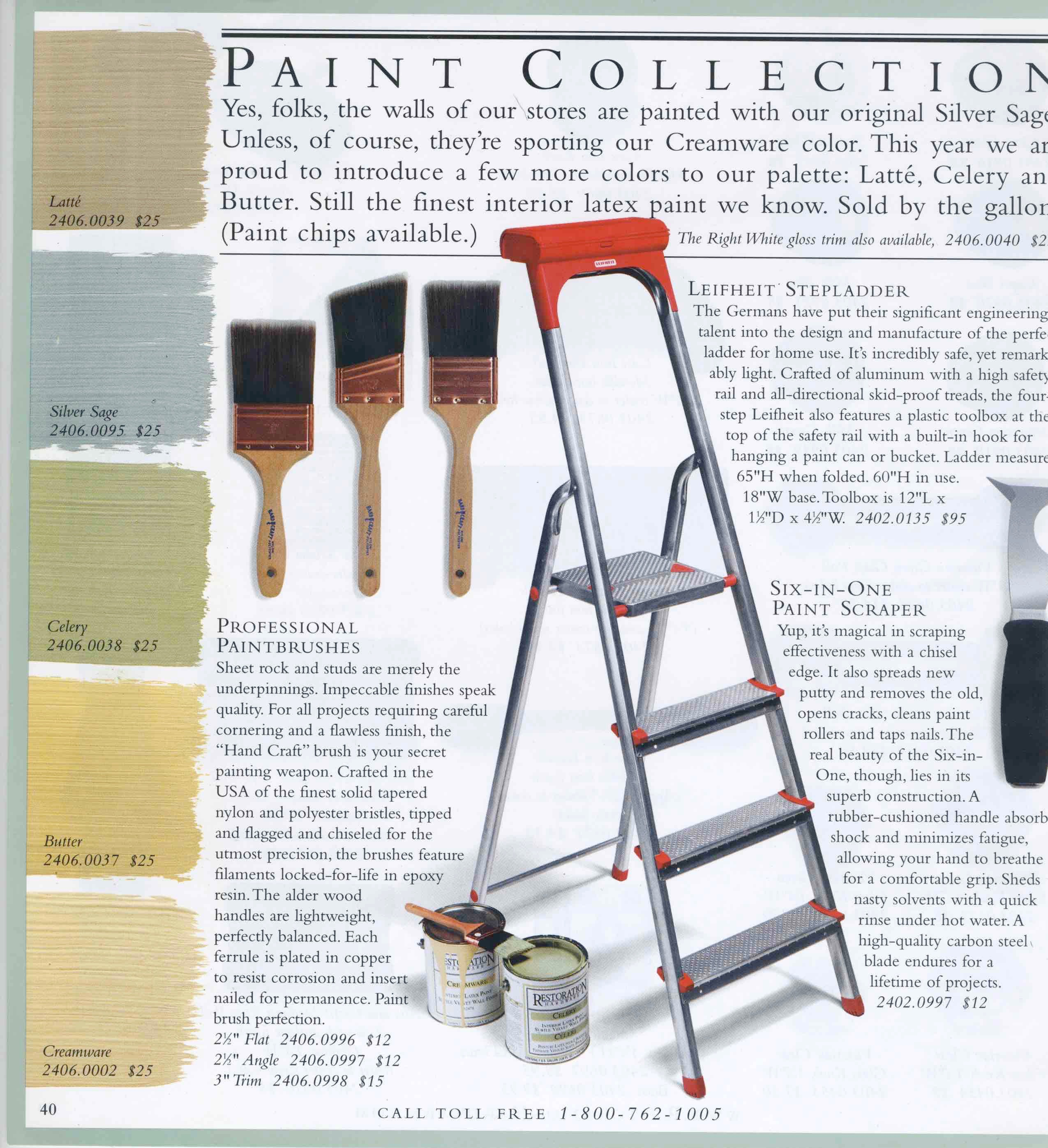 Restoration House paint colors