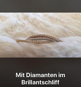 Diamanten im Brillantschliff perlenunikate.ch