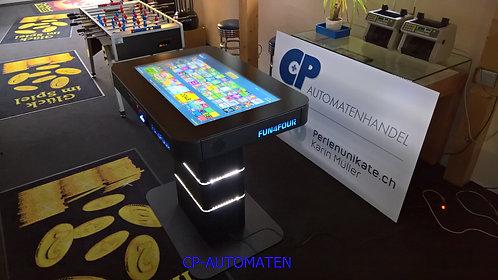 Fun4Four, Spieltisch, cp-automaten, C+P, Automaten, CP, Pokertisch, TAB, Space Towers, Texas Holdem,