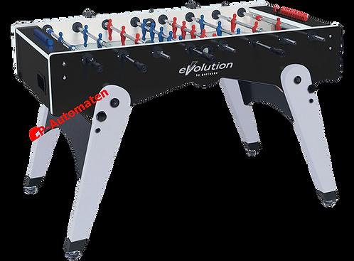 Garlando, Foldy, Evolution, klappbar, C+P, CP, cp-automaten, Töggeli, Kicker, Fussballtisch, Tischfussball, Baby-Foot.