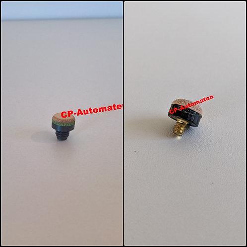 Queue-Ständer Eight Ball, cp-automaten, C+P , Automaten, CP, Schraubleder M8, Schraubleder 12 mm mit Messinggewinde 3/16