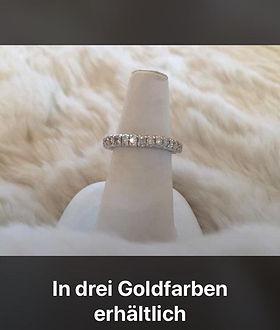 in drei Goldfarben erhältlich pelenunikate.ch