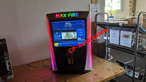 Max Fire 2, cp-automaten, C+P, Automaten, CP, Musikbox, Video Musicbox, MP3 Musicbox, Jukebox, Musikautomat, TAB