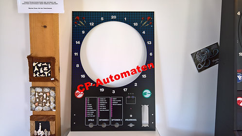 Löwen Dart HB 9, Löwen Dart HB 8, Turnier Dart, cp-automaten, C+P , Automaten, CP, Frontscheibe, Fronttüre, HB 9