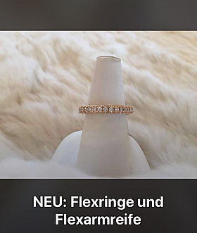 Flexringe und Flexarmreife perlenunikate.ch