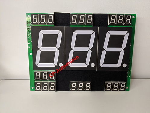 Display Board zu Kalkomat Boxer, Glove, cp-automaten, C+P , Automaten, CP, C+P Automatenhandel