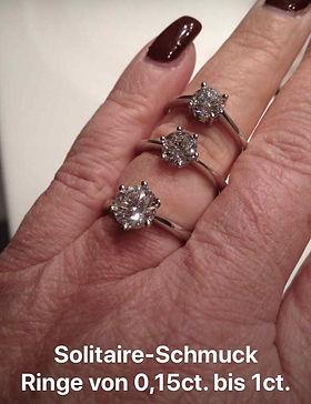 solitaire-schmuck ring karin müller muhen perlenunikate.ch