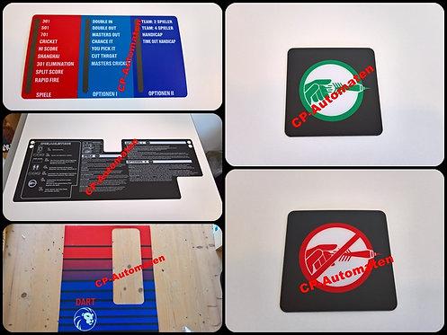 Löwen Dart HB 9, Löwen Dart HB 8, Turnier Dart, cp-automaten, C+P , Automaten, CP, Spielwahlpanel, Logo werfen, nicht werfen