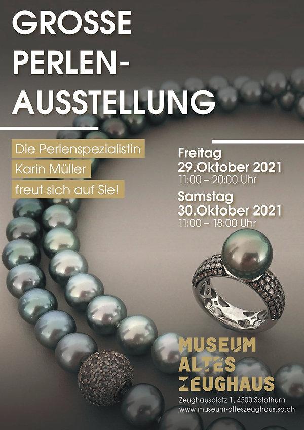 perlenschmuck und diamant schmuckausstellung in solothurn perlenunikate.ch karin müller