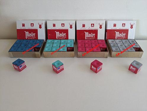 Billard-Kreide Blau, cp-automaten, C+P , Automaten, CP, , Billard-Kreide Grün, Billard-Kreide Rot, Master Billard-Kreide Grau