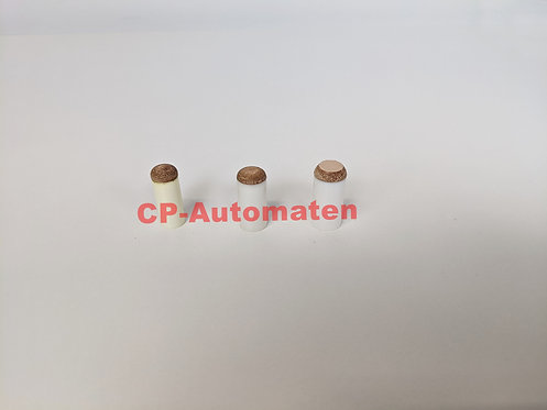 Aufsteckleder zu Queue, cp-automaten, C+P , Automaten, CP, Billard, Schraubleder M3, Billard Queue