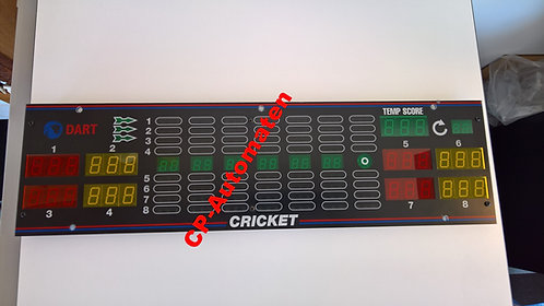 Löwen Dart HB 9, Löwen Dart HB 8, Turnier Dart, cp-automaten, C+P , Automaten, CP, 8 Spieler-Display, vollständig SMD