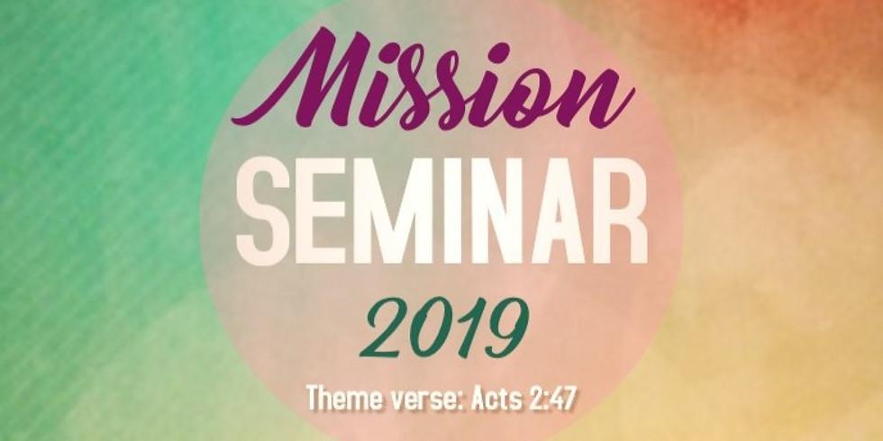 Mission Seminar 2019