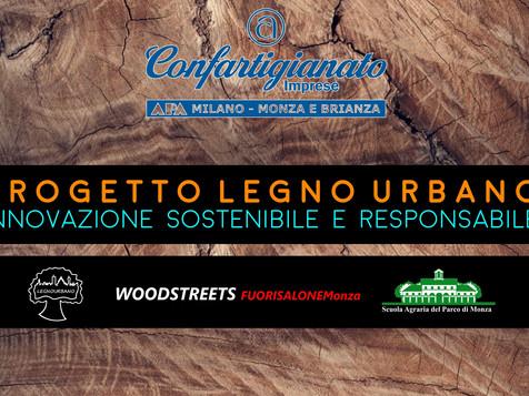 MONZA - Woodstreets: presentazione Progetto Legno Urbano. Innovazione sostenibile e responsabile