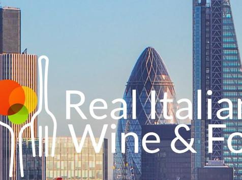 Real Italian Wine & Food – 8 ottobre 2020 - Londra