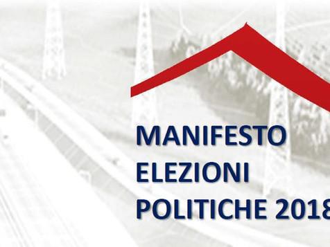 Manifesto per le elezioni politiche 2018
