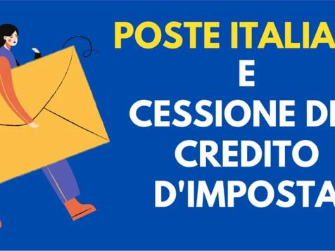 """EDILIZIA e IMPIANTI - Webinar """"Il servizio di cessione del credito d'imposta di Poste Italiane"""""""