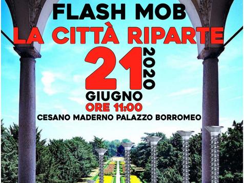 """Il 21 giugno il flashmob delle imprese """"La citta' riparte"""""""