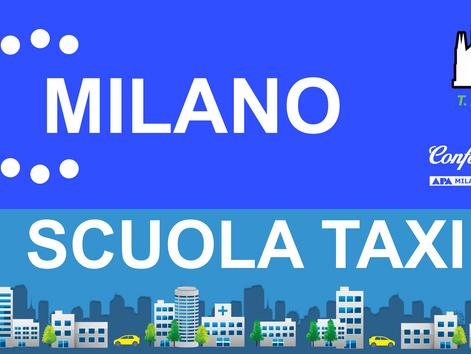 Apre a Milano la scuola taxi di Confartigianato