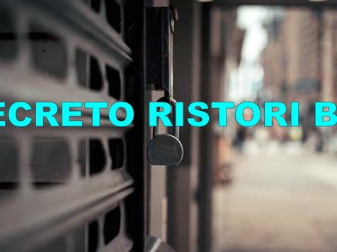 Decreto Ristori Bis: il testo pubblicato in Gazzetta Ufficiale
