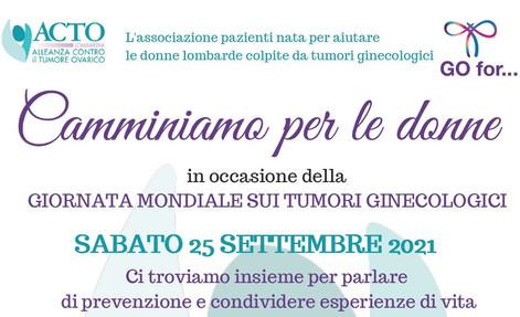Domani a Monza la camminata solidale