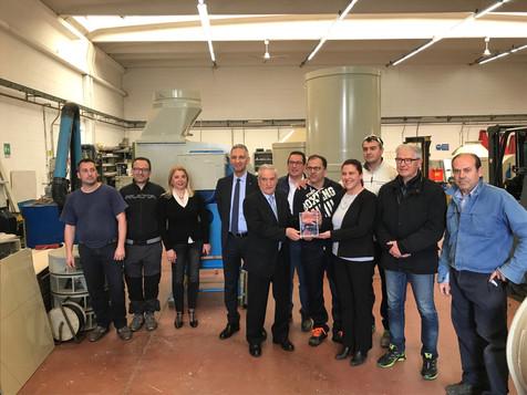 La CTB di Cesano Maderno vincitrice del premio Welfare Index PMI