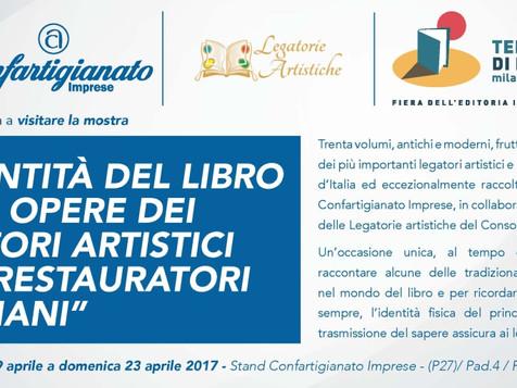 """Confartigianato protagonista di """"Tempo di Libri"""" a Milano dal 19 al 23 aprile"""