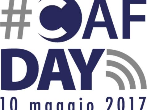 CAAF. Il 10 maggio appuntamento con il #CAFDAY