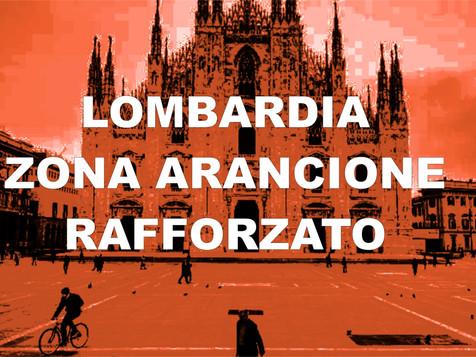 La Lombardia in 'arancione rafforzato' fino al 14 marzo: firmata l'ordinanza